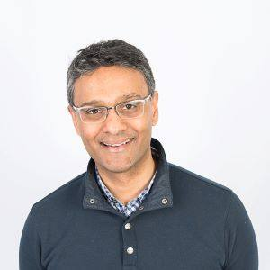 Dr. Dylan Pillai, diagnostics and microbiology professor at University of Calgary
