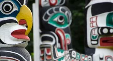 indigenous canadian totem poles