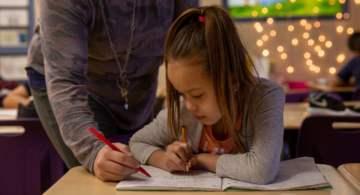 Indigenous children participate in Martin Family Initiative education program