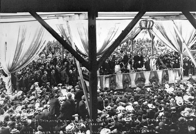 Inauguration of Alberta 1905